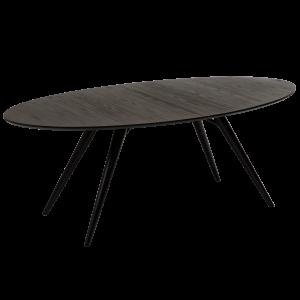 DF HANS TABLE OVAL GREY