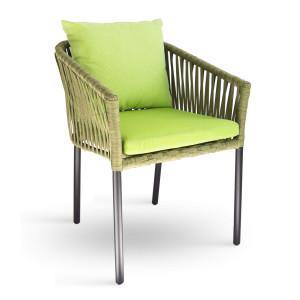 Zöld kültéri szék