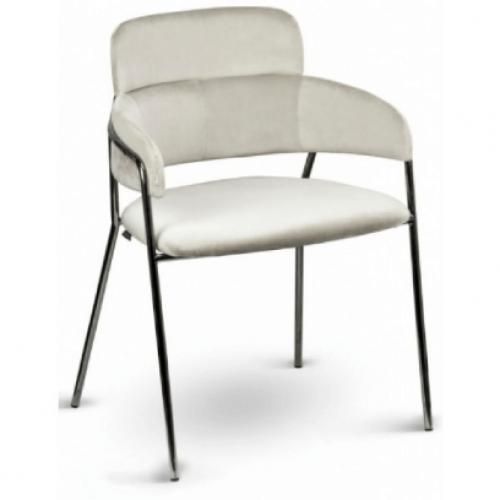 Krómvázas design szék