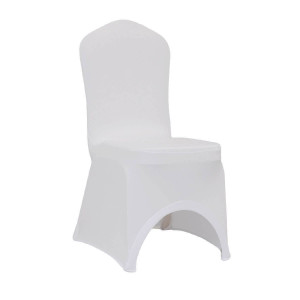 DL  CHAIR SPANDEX  WHITE