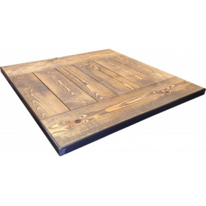 ANTIQUE PINE METAL FRAME TOP