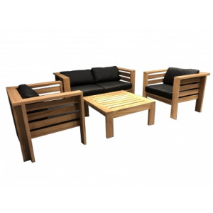 DL BALATON Teak Lounge Set