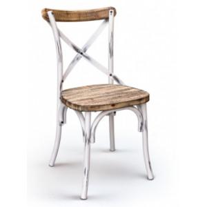 Fémvázas antik szék
