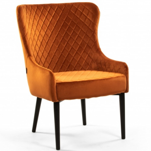 DL CRYSTAL ARMCHAIR COGNAC
