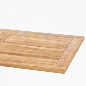 DL SAHARA TEAK WOOD TABLE TOP 120 x 80