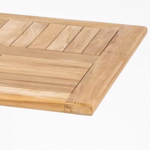 DL SAHARA TEAK WOOD TABLE TOP 70x70