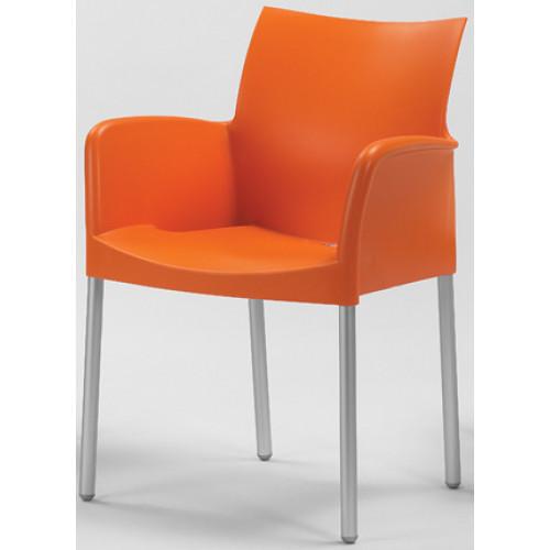 Fém kültéri székek: PEDRALI 850 ICE Fémvázas szék