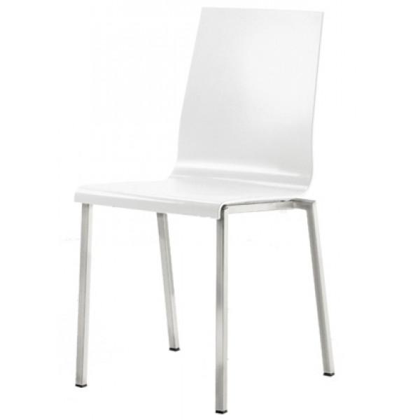 Minimalista székek: PEDRALI KUADRA 1101 Fém vázas szék