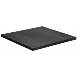 PJ PIANO Veneer black OAK table top