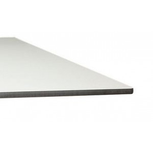 PA WHITE COMPACT TABLE HPL TOP