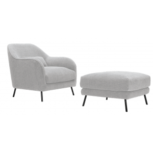 Design fotel lábtartóval